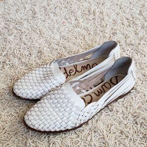 Sam Edelman White Leather shoes
